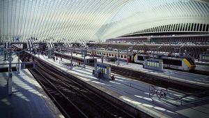 Chauffeur navette gare de train